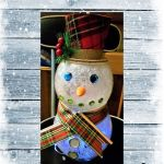 Fishbowl Snowman – Easy Dollar Store Crafts