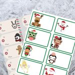 Holiday Themed Gift Tag Printables – Free