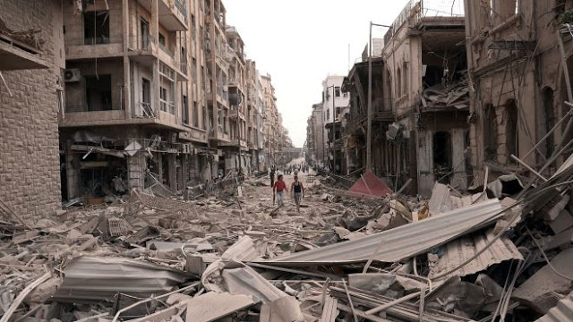 Mideast Syria Cost of Bake - W obronie dzieci