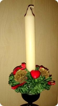 Świąteczna świeca