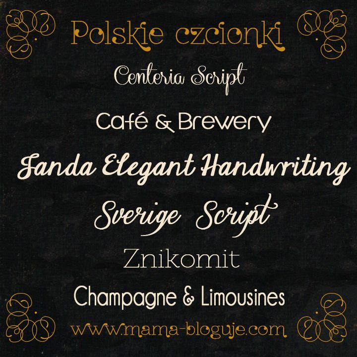 darmowe polskie czcionki part2