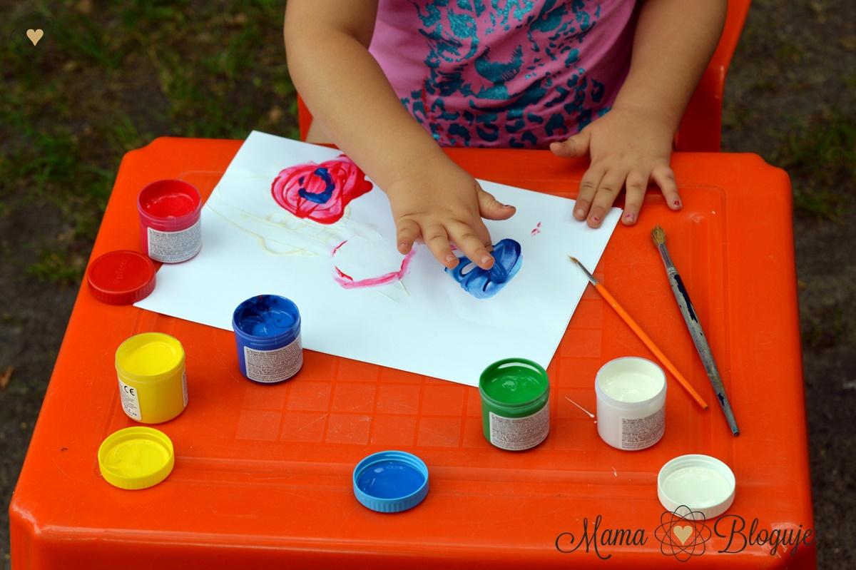 malowanie palcami 1
