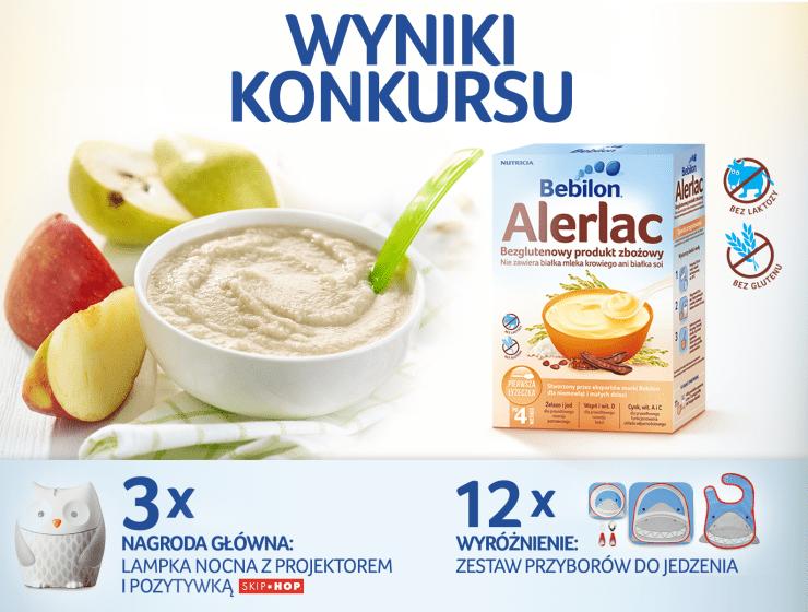 NutriciaKonkurs - DANIE DLA ALERGIKA – WYNIKI KONKURSU Z BEBILON ALERLAC