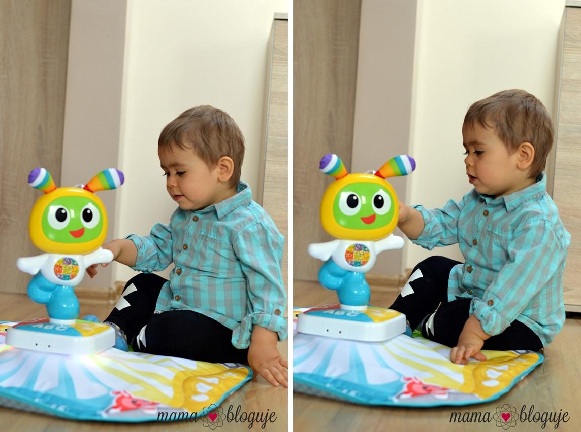 mata BeBo zabawka mata interaktywna 10 tile - MATA BEBO - CZY DZIECI POLUBIĄ MAŁEGO ROBOTA?