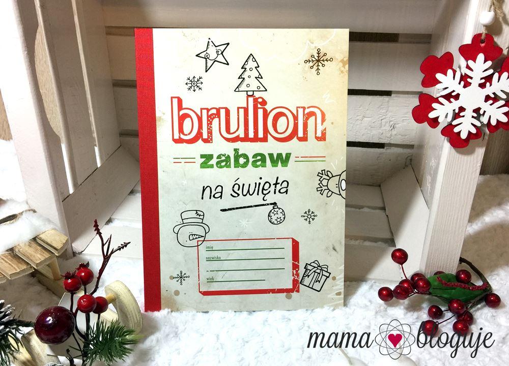 Brulion zabaw na święta blog recenzja środek