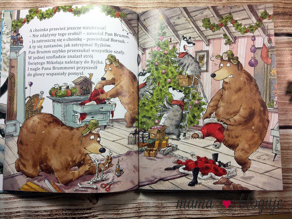 Pan Brumm obchodzi Boże Narodzenie blog recenzja