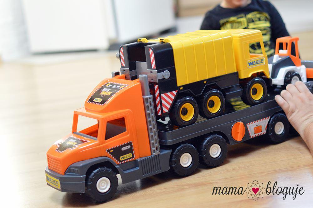 Middle Truck śmieciarka zabawka wader