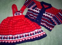 2 piece set for a little girl