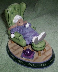 "Woodsong ""Quiet Time"" Collectible - new in box!"