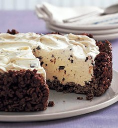 Mint Chip Ice Cream Pie