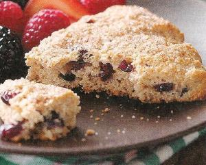 whole wheat cranberry scones 001