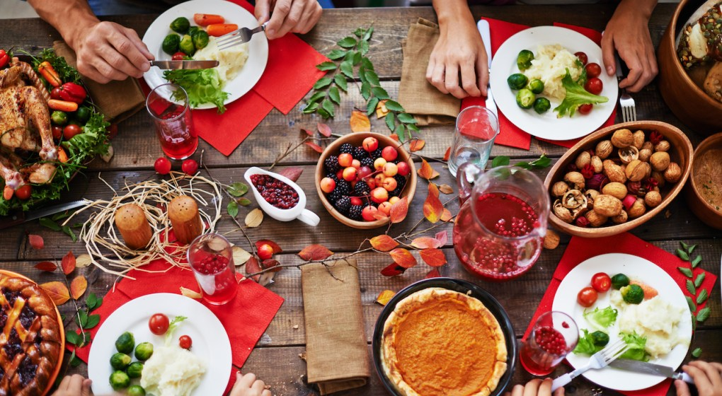 Get great thanksgiving table setting ideas
