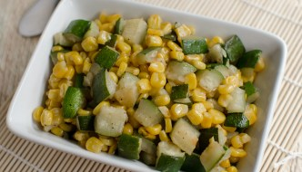 Zucchini And Corn: Delicious Mexican Sidedish