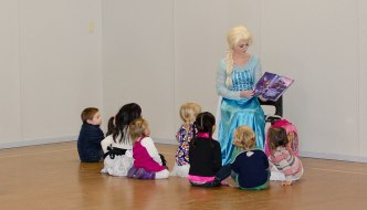 Our Frozen Inspired Birthday Party