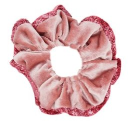 MamaBella AH0034 Oud Roze Rand Scrunchie
