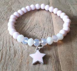 AK0004 Pink Star Bracelet