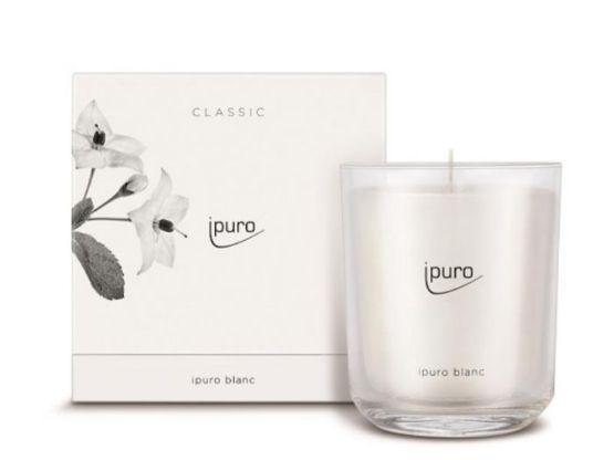 Ipuro Geurkaars Classic ipuro blanc scented candle bougie parfumée kaars aromakaars huisparfum 4051281537309 MamaBella Juwelen en accessoires