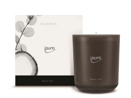 Ipuro Geurkaars Classic ipuro noir scented candle bougie parfumée kaars aromakaars huisparfum 4051281537361 MamaBella Juwelen en accessoires