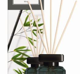 Essentials by Ipuro Geurstokjes black bamboo 100 ml room fragrances geurdiffuser aromadiffuser huisparfum EAN4051281983687 MamaBella Juwelen en accessoires