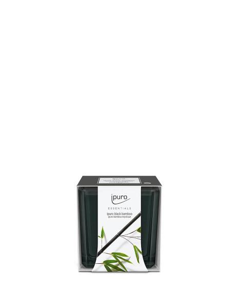 Essentials by Ipuro Geurkaars black bamboo room fragrances geurdiffuser aromadiffuser huisparfum EAN4051281984448 Juwelen en accessoires