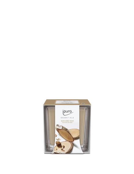 Essentials by Ipuro Geurkaars cedar wood 125 gr room fragrances geurdiffuser aromadiffuser huisparfum EAN4051281984387 Juwelen en accessoires