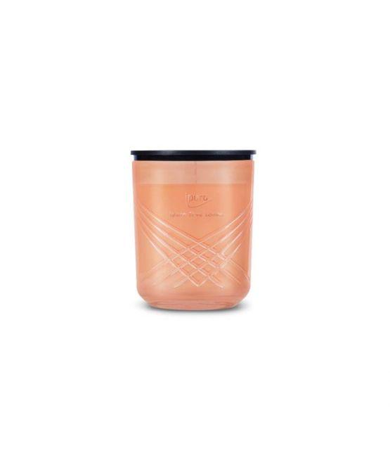 Ipuro Geurkaars Exclusive ipuro fève tonka room fragrances geurdiffuser aromadiffuser huisparfum kaars EAN 4051281985421 MamaBella Juwelen en accessoires