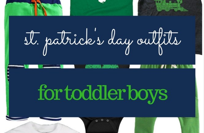 St. Patrick's Day Outfits for Toddler Boys