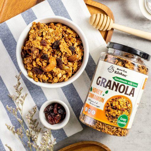 Honey cinnamon granola