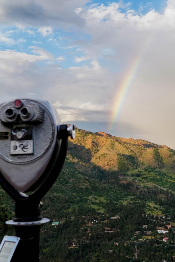 Pikes Peak Highway Rainbow
