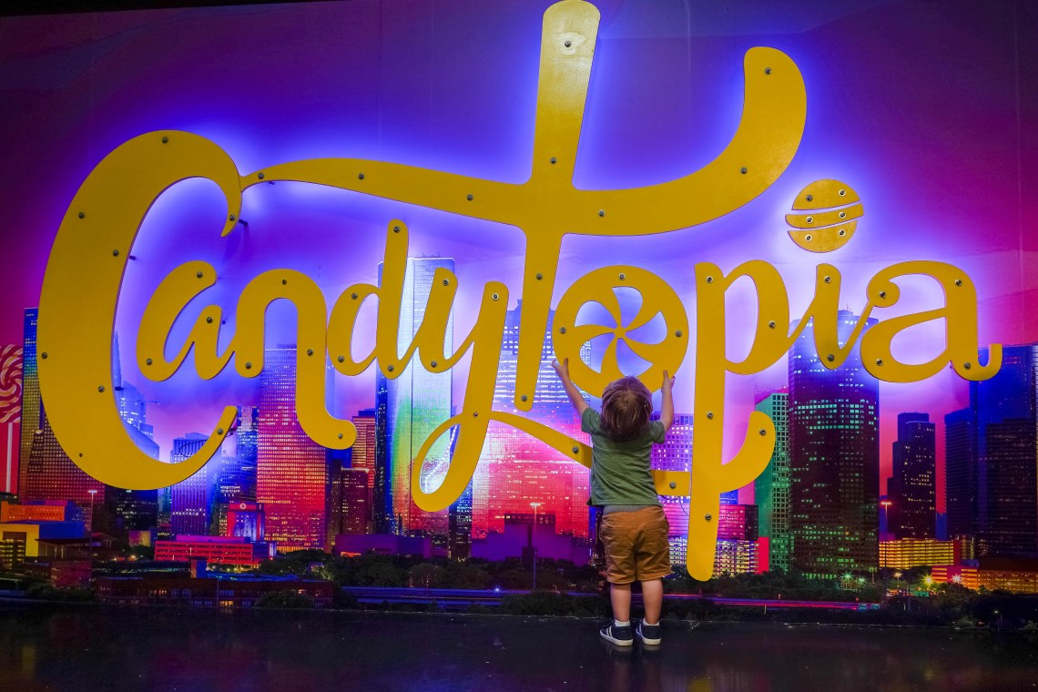 Candytopia with kids