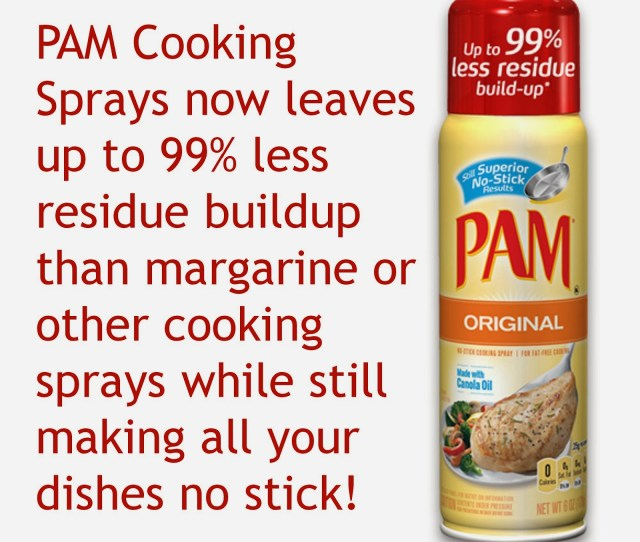 Thanksgiving I Picked Up My Can Of Pam Cooking Spray At Least  Times From Spraying The Pan For The Rolls Spraying The Turkey To Give It A Little Color
