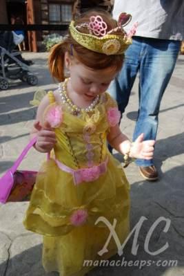 lily princess dinner akershus epcot center