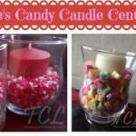 valentines candy centerpieces
