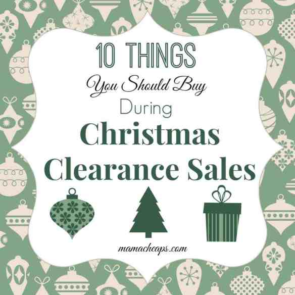 10 Things You Should Buy During Christmas Clearance Sales