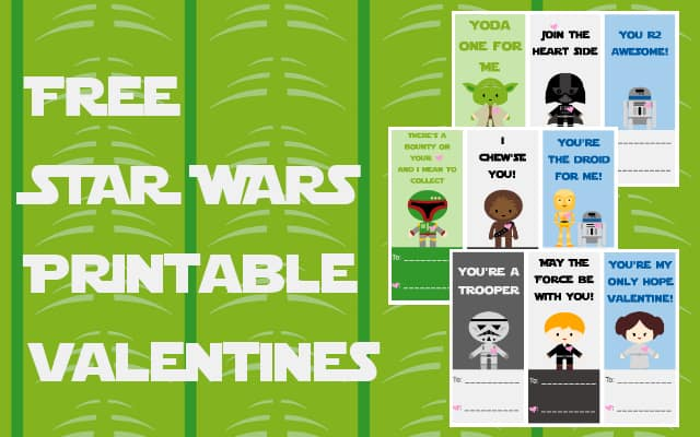 FREE Star Wars Printable Valentines Mama Cheaps