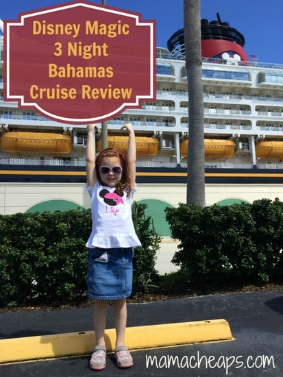 Disney Cruise Lines Review Magic 3 Night Bahamas From Port Canaveral With A Kid And A Baby