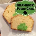 shamrock pound cake title