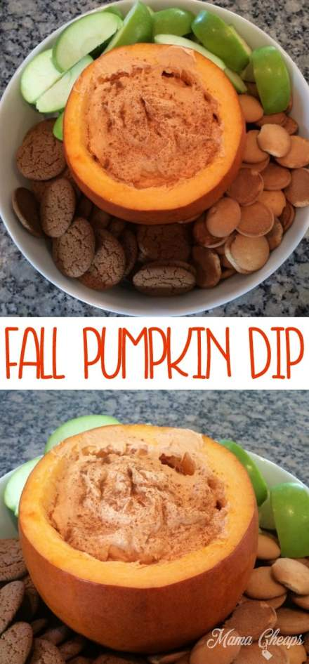 Fall Pumpkin Dip Recipe