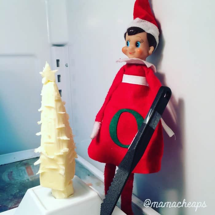 Elf Carving Butter