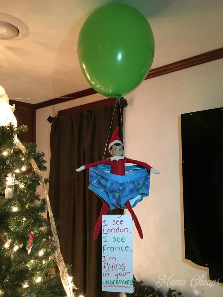 Elf Hot Air Balloon