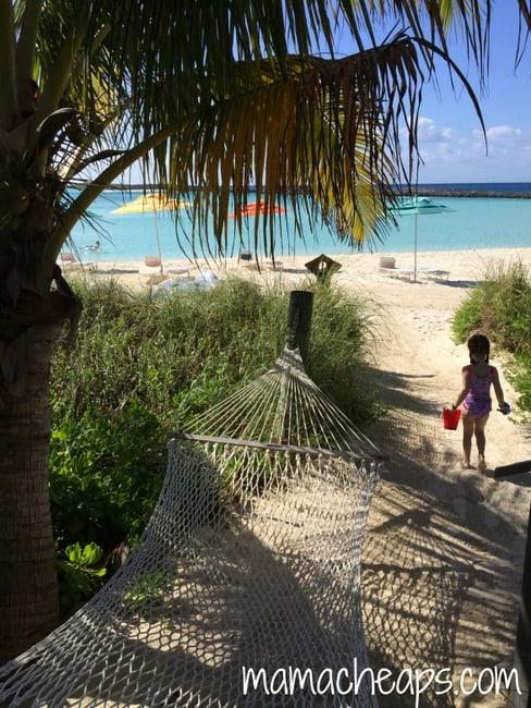 disney cruise castaway cay cabana beach