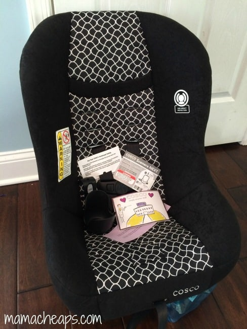 Cosco Scenera NEXT Convertible Car Seat Review + Giveaway #Ad | Mama ...
