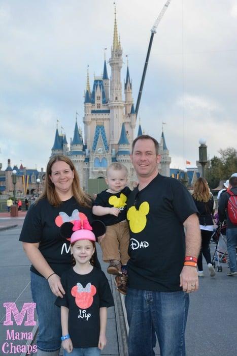 disney world matching shirts mickey