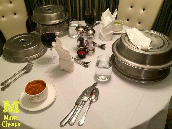 disney dream in room suite dining