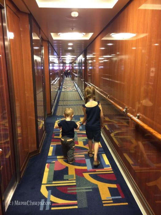 disney dream hallway deck 12