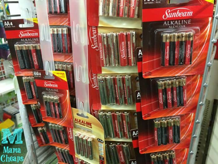batteries at dollar tree