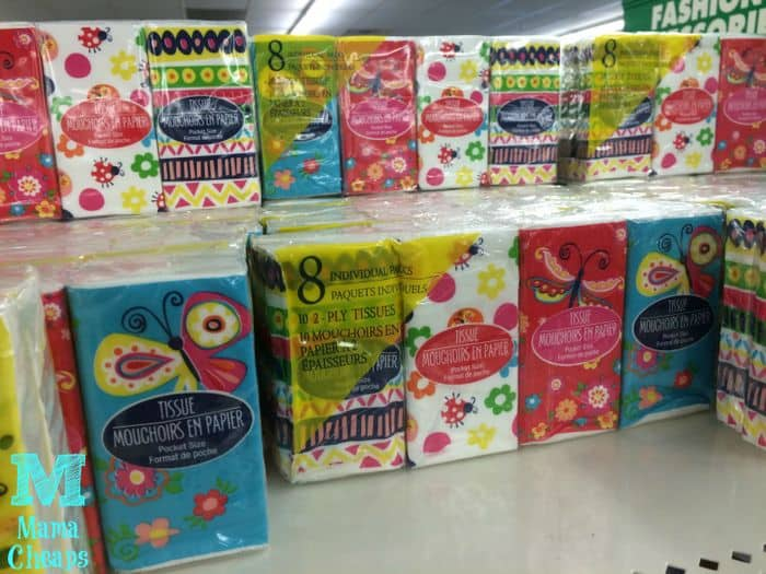 tissues at dollar tree