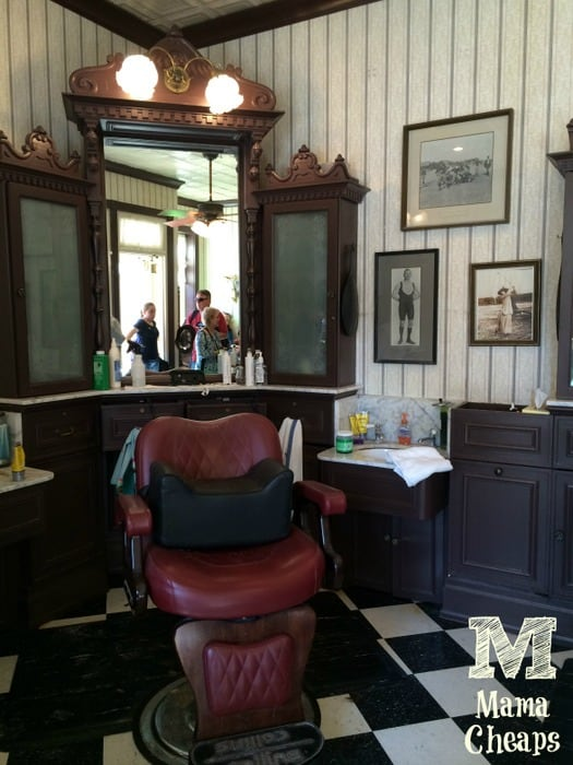 Disney World Main Street USA Barber Shop