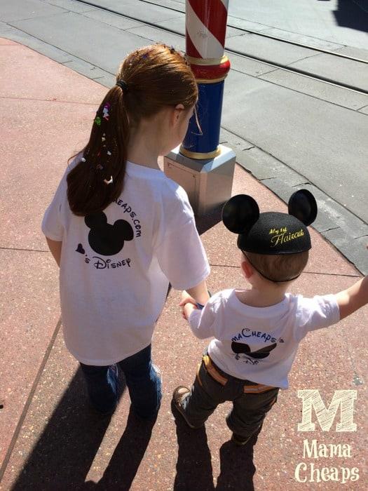 Kids in Disney