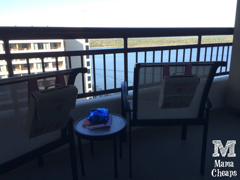 bay lake tower balcony